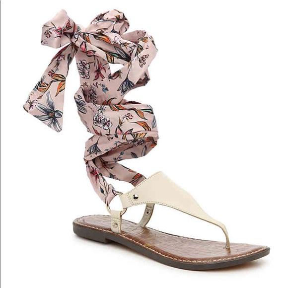 4ff94719820a89 Sam Edelman Giliana Ankle Tie Thong Sandals Size 7.  M 5b0b0beba825a625dcdb4f45